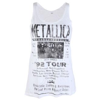 Metallica női top - 92 Poster White - ATMOSPHERE - RTMTL094