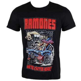 metál póló férfi Ramones - Outta Here - ROCK OFF, ROCK OFF, Ramones