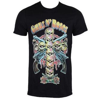 metál póló férfi Guns N' Roses - Skull Cross 80's - ROCK OFF, ROCK OFF, Guns N' Roses