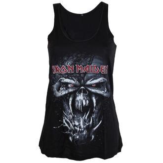 Iron Maiden női felső - FF Eddie Distressed - ROCK OFF, ROCK OFF, Iron Maiden