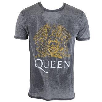 metál póló férfi Queen - Crest - ROCK OFF, ROCK OFF, Queen