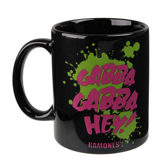 Ramones bögre- Gabba Gabba Hey - ROCK OFF, ROCK OFF, Ramones
