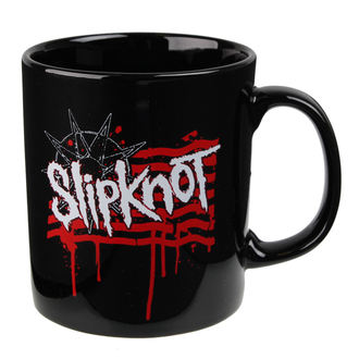 Slipknot bögre - Dripping Flag And Logo - ROCK OFF - SKMUG08