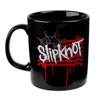 Slipknot bögre - Dripping Flag And Logo - ROCK OFF, ROCK OFF, Slipknot