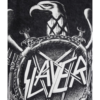 metál póló férfi Slayer - Hi Contrast Eagle Puff Print - ROCK OFF, ROCK OFF, Slayer