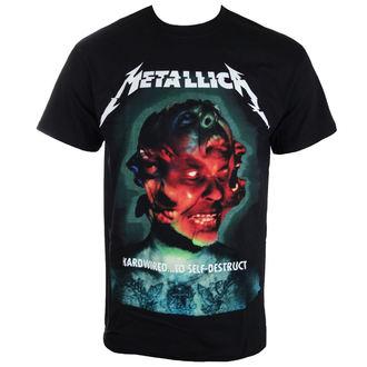 metál póló férfi Metallica - Hardwired Album Cover - - RTMTLTSBHCO