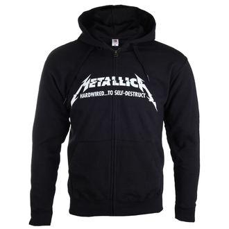 kapucnis pulóver férfi Metallica - Hardwired Album Cover -, Metallica