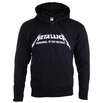 kapucnis pulóver férfi Metallica - Hardwired Album Cover - NNM