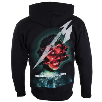 kapucnis pulóver férfi Metallica - Hardwired Album Cover - NNM, NNM, Metallica