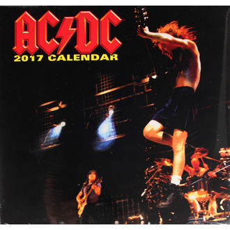 2017-es naptár - AC/DC, AC-DC