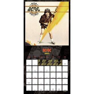 2017-es naptár - AC/DC