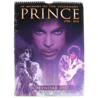 2017-es naptár - Prince
