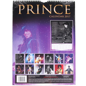 2017-es naptár - Prince, NNM