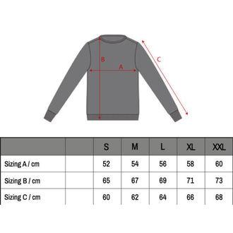 pulóver (kapucni nélkül) férfi - Sweat Chicanos - HYRAW