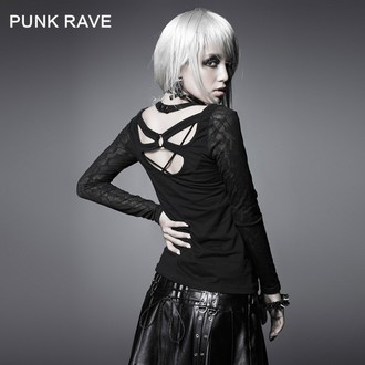 PUNK RAVE hosszú ujjú női felső - Black Metal, PUNK RAVE