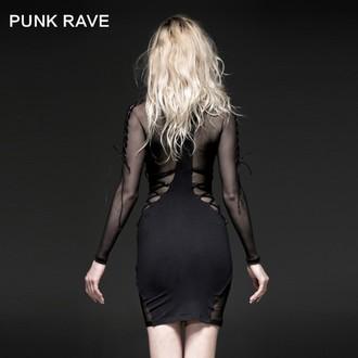 női ruha PUNK RAVE - Fatal Kiss, PUNK RAVE