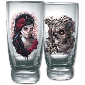 SPIRAL pohár (két darabos készlet) - DAY OF THE DEAD - K026A001