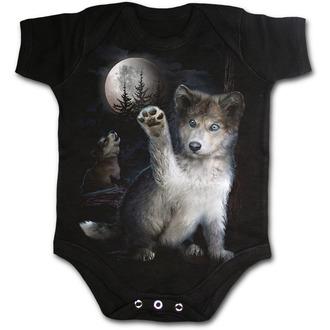 SPIRAL gyerek body - WOLF PUPPY, SPIRAL