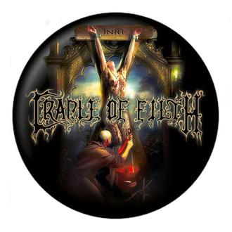 Cradle of Filth kitűző - Hexen - NUCLEAR BLAST, NUCLEAR BLAST, Cradle of Filth