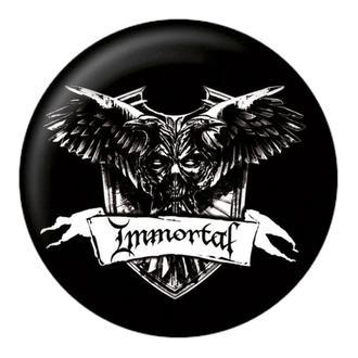 Immortal kitűző - Crest - NUCLEAR BLAST, NUCLEAR BLAST, Immortal