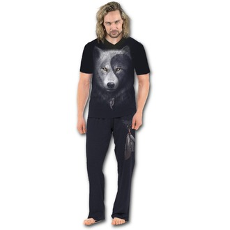 SPIRAL férfi pizsama - WOLF CHI, SPIRAL