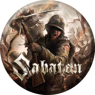 Sabaton kitűző  - The last stand - NUCLEAR BLAST, NUCLEAR BLAST, Sabaton