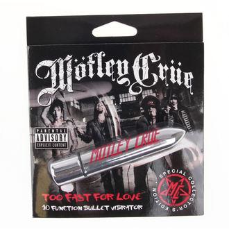 Motley Crue vibrátor - Too Fast For Love 10 - Fizető FEJ, PLASTIC HEAD, Mötley Crüe