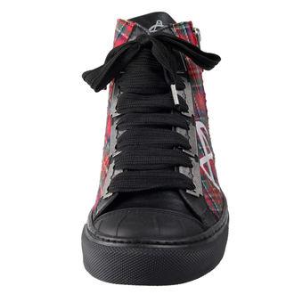 magasszárú cipő női - ANARCHY-PUNK - ALCHEMY GOTHIC, ALCHEMY GOTHIC