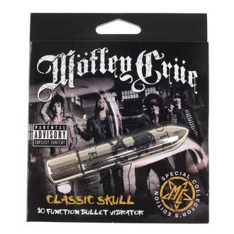 Motley Crue vibrátor - Classic Skull 10 - P&&string1&&, PLASTIC HEAD, Mötley Crüe