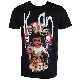 metál póló férfi Korn - Dolls - PLASTIC HEAD, PLASTIC HEAD, Korn