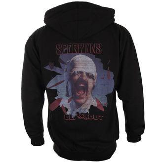 kapucnis pulóver férfi Scorpions - Black Out - PLASTIC HEAD, PLASTIC HEAD, Scorpions