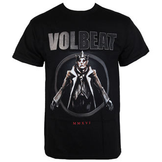 metál póló férfi Volbeat - RED KING-BLACK - BRAVADO, BRAVADO, Volbeat