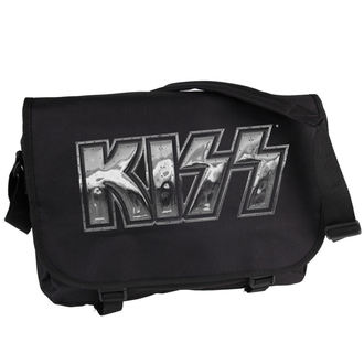 Kiss táska - Iron Logo - PLASTIC HEAD, PLASTIC HEAD, Kiss