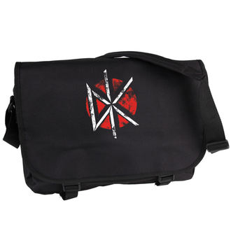 Dead Kennedys táska - Distressed Logo - Fekete - PLASTIC HEAD, PLASTIC HEAD, Dead Kennedys