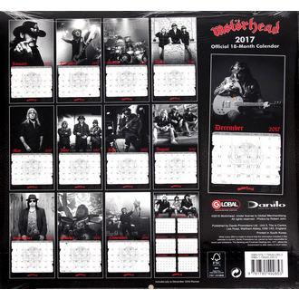 Motörhead 2017-es naptár, Motörhead