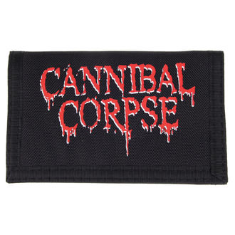 Cannibal Corpse pénztárca - Logo - PLASTIC HEAD, PLASTIC HEAD, Cannibal Corpse