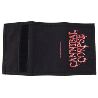 Cannibal Corpse pénztárca - Logo - PLASTIC HEAD, PLASTIC HEAD, Cannibal Corpse