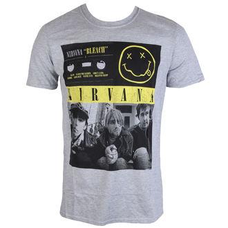 metál póló férfi Nirvana - Bleach Tape Photo - PLASTIC HEAD, PLASTIC HEAD, Nirvana