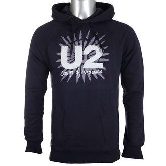 kapucnis pulóver férfi U2 - Songs Of Innocence - PLASTIC HEAD, PLASTIC HEAD, U2