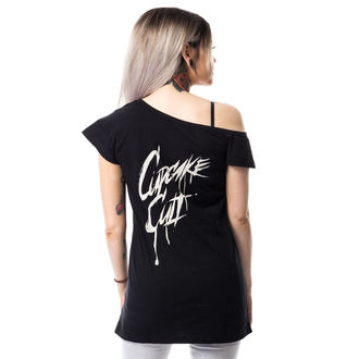 tričko dámské POIZEN INDUSTRIES - DEAD INSIDE OFF SHOULDER T - BLACK, CUPCAKE CULT