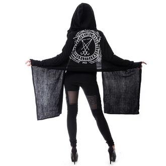 HEARTLESS női pulóver (kardigán) - LAZIRUS - BLACK - POI185
