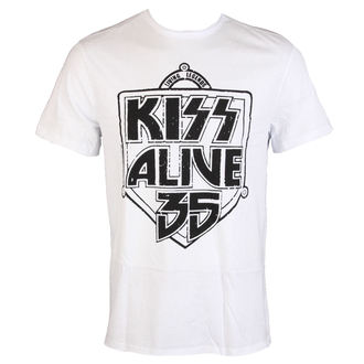 metál póló férfi Kiss - ALIVE 35 - AMPLIFIED, AMPLIFIED, Kiss