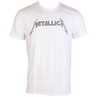metál póló férfi Metallica - BLACK LOGO DIAMANTE - AMPLIFIED, AMPLIFIED, Metallica