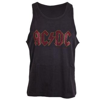 AC / DC férfi felső  - LOGO CHARCOAL - AMPLIFIED - AV319ACS
