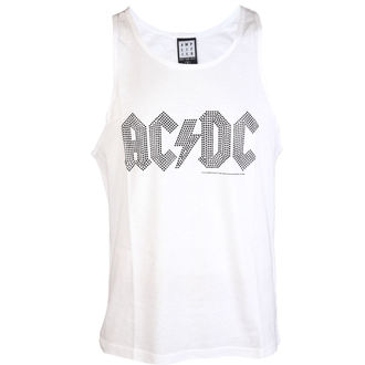 AC/DC férfi felső  - BLACK LOGO DIAMONTE WHITE - AMPLIFIED, AMPLIFIED, AC-DC