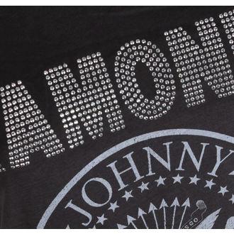 metál póló női Ramones - LOGO SILVER DIAMANTE - AMPLIFIED b71b65cc5c