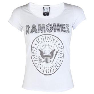 metál póló női Ramones - LOGO DIAMANTE - AMPLIFIED 7d4a0ad985