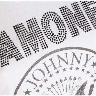 metál póló női Ramones - LOGO DIAMANTE - AMPLIFIED, AMPLIFIED, Ramones
