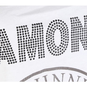 RAMONES női felső - LOGO DIAMANTE - FEHÉR - AMPLIFIED 8095bc493c