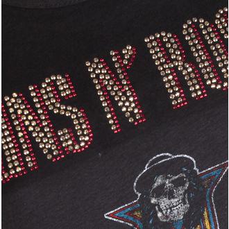 metál póló női Guns N' Roses - CLASSIC DIAMANTE - AMPLIFIED, AMPLIFIED, Guns N' Roses